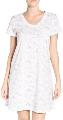 Carole Hochman Print Cotton Sleep Shirt $40 thestylecure.com
