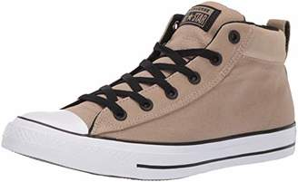 4f77a67a803f Converse Men s Unisex Chuck Taylor All Star Street Suede Mid Top Sneaker