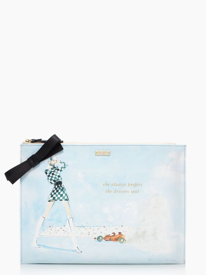 Kate Spade Photo finish large bella pouch