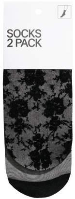 H&M 2-pack Nylon Stockings - Black