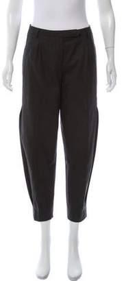 Eleventy Mid-Rise Wool Blend Pants