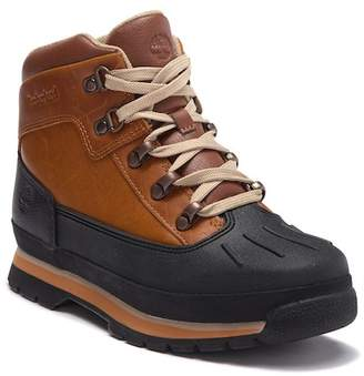 Timberland Euro Hiker Shell Toe Leather Boot (Baby)