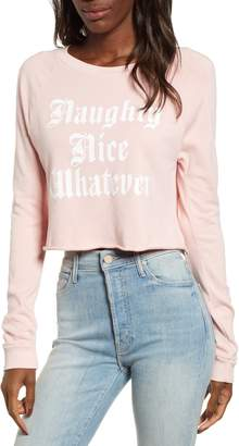 Wildfox Couture Naughty Nice Whatever Sweatshirt
