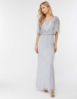 Monsoon Tatiana Embellished Maxi Bridesmaid Dress