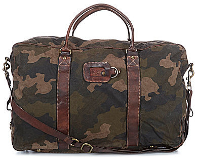 BerettaBeretta Washed Canvas & Leather Camo Backpack