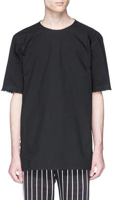 Damir Doma 'Theri' frayed cuff poplin top