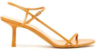 The Row Mid Heel Slingback Sandals - Womens - Tan