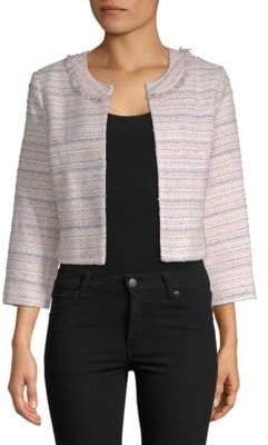 Short Open Tweed Jacket