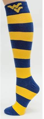 Donegal Bay West Virginia Mountaineers Striped Dress Sock