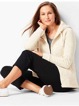 Talbots Hooded Fleece Jacket