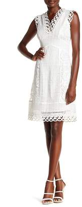ABS Collection Crochet Detail Dress
