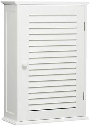 Premier Housewares Wooden Wall Cabinet - White