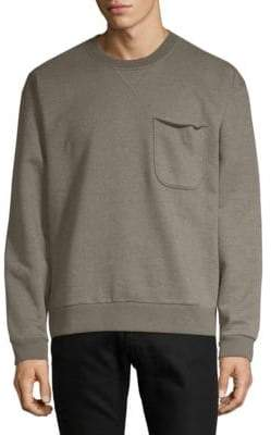 ATM Anthony Thomas Melillo Rib-Trimmed Sweatshirt