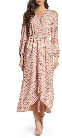 Fraiche by J Cold Shoulder Midi Dress