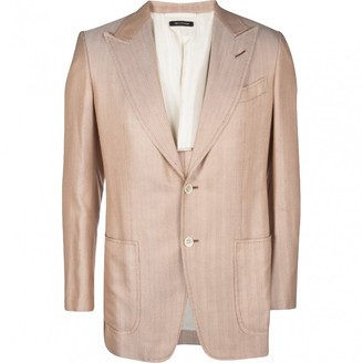 Tom Ford Pink Silk Jackets