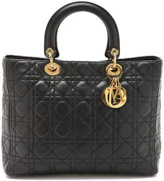 What Goes Around Comes Around Dior Lady Dior Bag $3,495 thestylecure.com