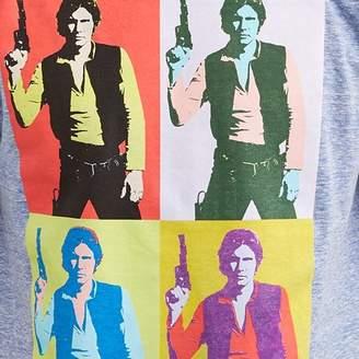 Star Wars Movies & TV Han Solo Silkscreen Men's Graphic T-shirt