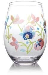Dansk Pelle Melamine Floral Stemless Glass - 100% Exclusive