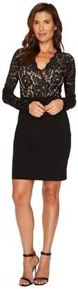 Karen Kane Becca Contrast Lace Dress Women's Dress