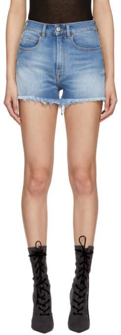 Blue Vintage Denim Shorts
