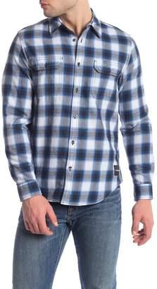 Calvin Klein Carson Check Print Slim Fit Shirt