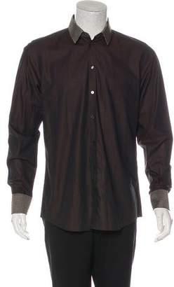 Dolce & Gabbana Silk-Blend Button-Up Shirt