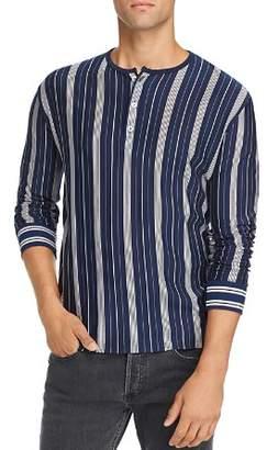 A.P.C. Merioul Long-Sleeve Striped Jersey Henley