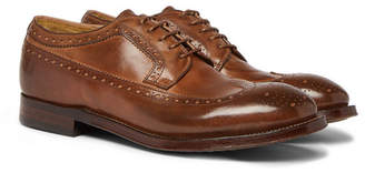 Officine Creative Williams Burnished-Leather Brogues