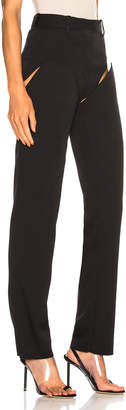 Y/Project Y Project Front Cut Tailored Pant