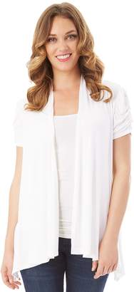 Apt. 9 Women's Draped Open-Front Cardigan