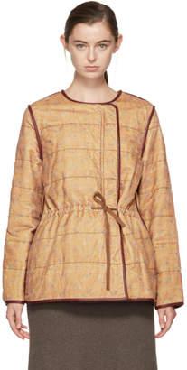 Isabel Marant Tan Velvet Short Gaspard Jacket