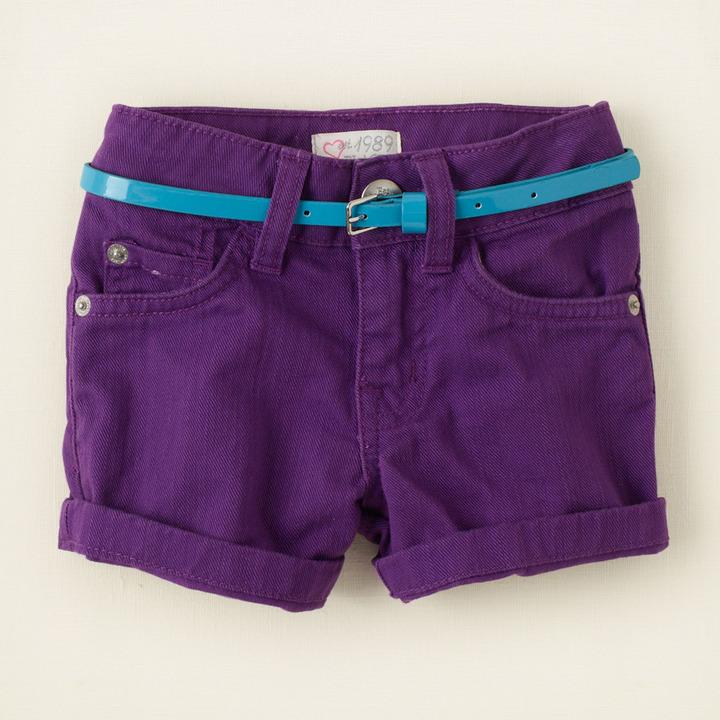 Children's Place Color denim shorts