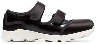 Marni black techno neoprene sneakers