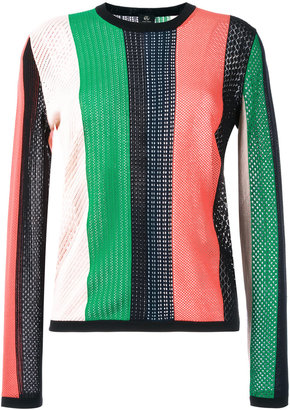 Ps By Paul Smith round neck striped jumper $365 thestylecure.com