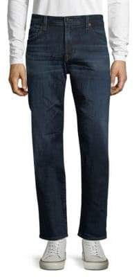 AG Jeans Whiskered Bootcut Jeans