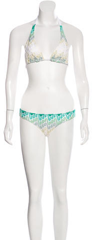 MissoniMissoni Knit Two-Piece Swimsuit