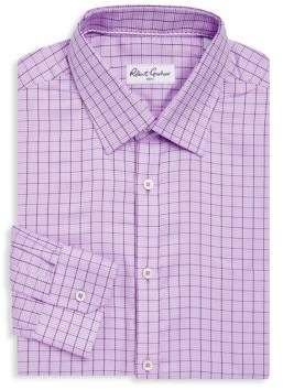 Robert Graham Lamar Windowpane Dress Shirt