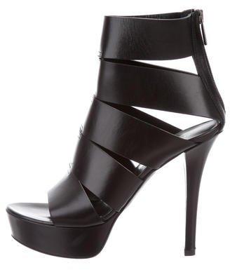Vera Wang Platform Cage Sandals
