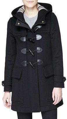 Burberry Finsdale Hooded Duffle Coat w/ Toggles $1,095 thestylecure.com