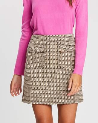 Dorothy Perkins Geometric Mini Skirt