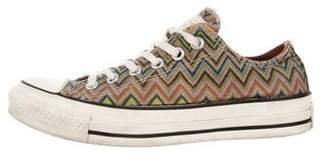 Converse Missoni x Chevron Low-Top Sneakers