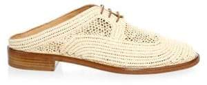 Clergerie Jaly Raffia Mules