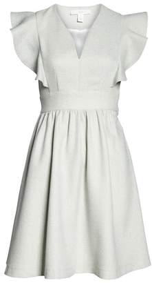 1901 Ruffle Sleeve Dress