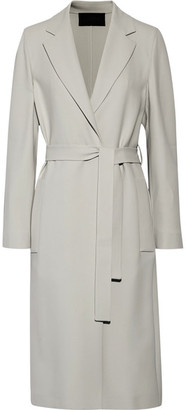 Calvin Klein Collection - Cady Trench Coat - Light gray $1,995 thestylecure.com