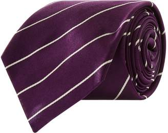 Ralph Lauren Satin Stripe Tie