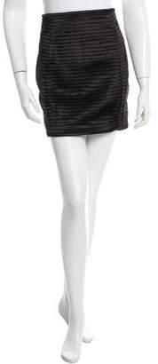 Balmain Layered Mini Skirt w/ Tags