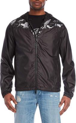Marcelo Burlon County of Milan Hooded Windbreaker Jacket