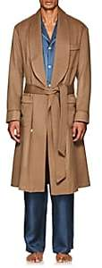 Barneys New York Men's Wool-Cashmere Felt Robe-Camel