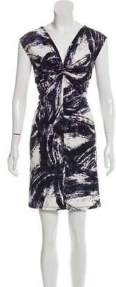 MICHAEL Michael Kors Abstract Print Sleeveless Dress