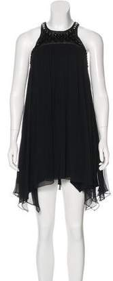 Thomas Wylde Sleeveless Silk Dress